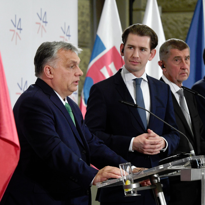 V4, Austrian Premiers Discuss Energy, EU Funding and Migration in Prague